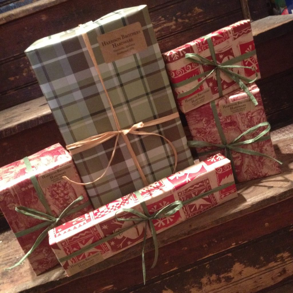We offer FREE gift wrapping all year! Come let us help you shop.